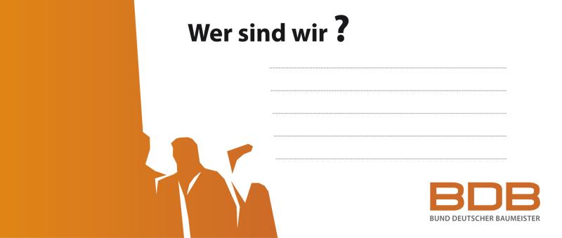 Baumeister aktiv! - Strategien für den BDB