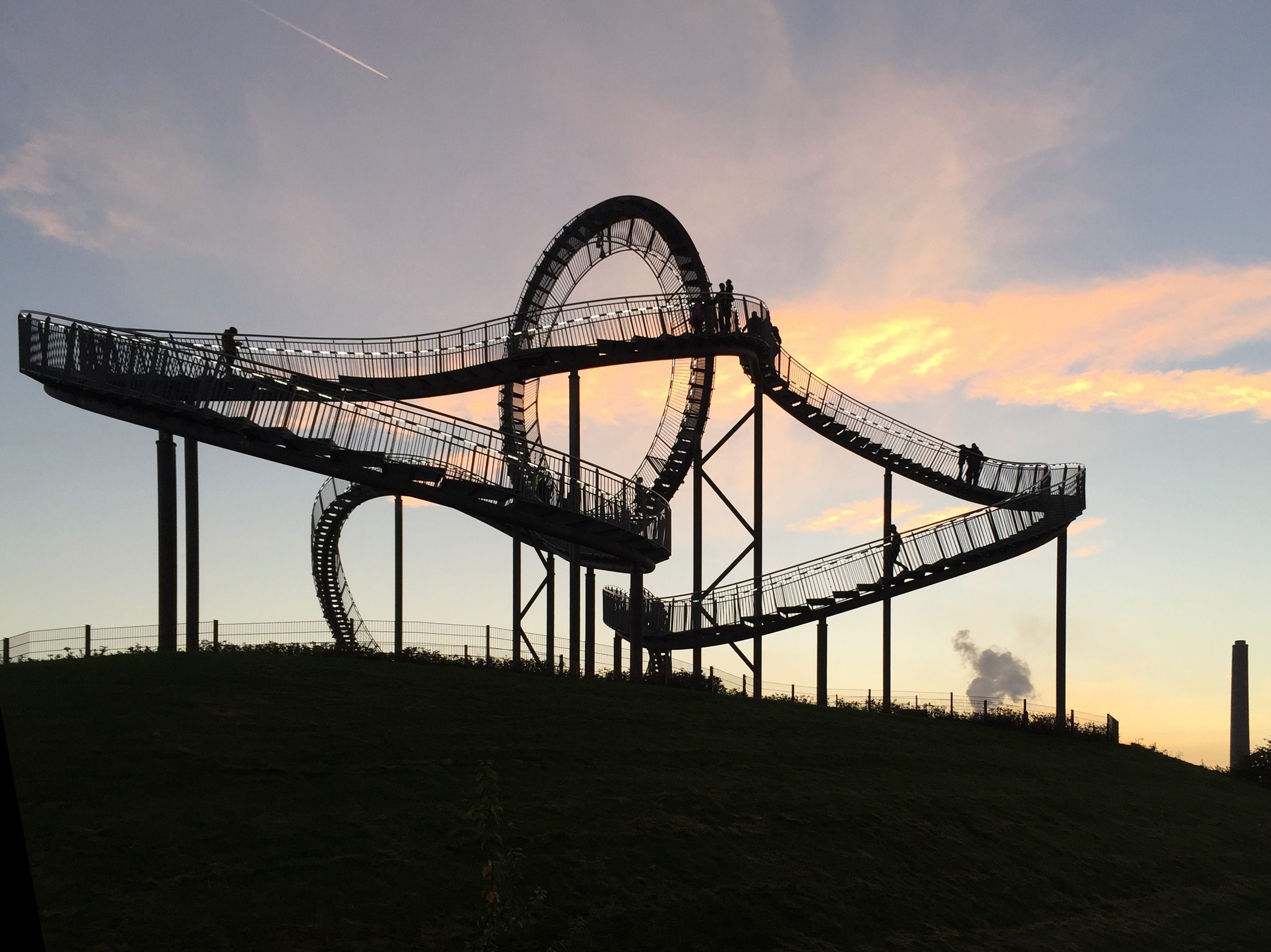 Auf Halde 5: Tigel and Turtle Magic Mountain, Duisburg
